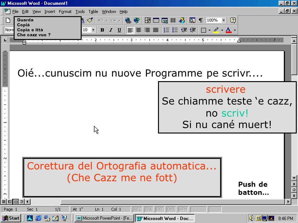Programme pe scriv na letter o che cazz ne so.... Winparol.exe Versione Sicura.elf718.jg Diritti ? Stu cazz....Version e Contrabband... Nummero Serial