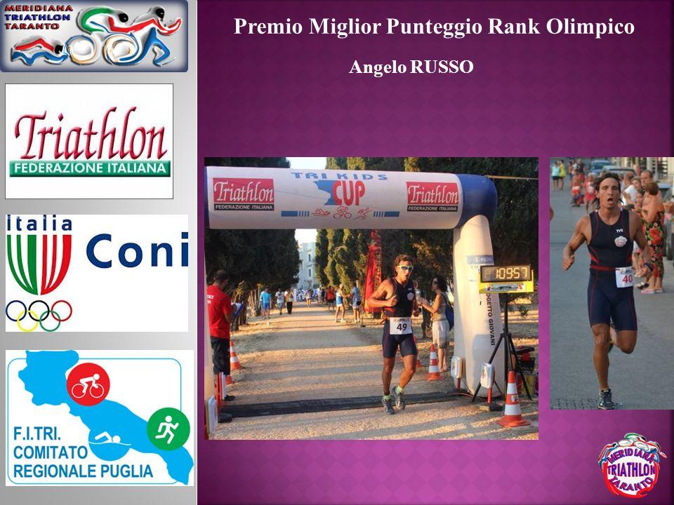 Premio Miglior Punteggio Rank Olimpico Angelo RUSSO