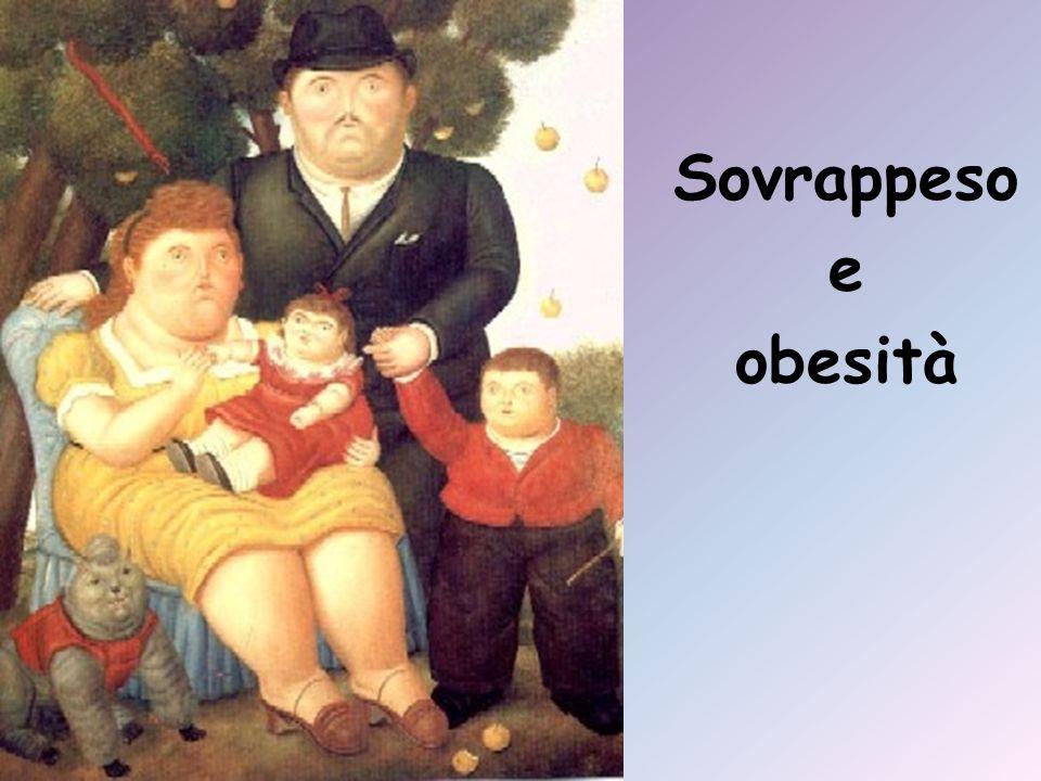 LOMS (Organizzazione Mondiale della Sanità) definisce sovrappeso e obesità come condizioni caratterizzate da eccessivo peso corporeo per accumulo di tessuto adiposo, in misura tale da influire negativamente sullo stato di salute del singolo individuo.