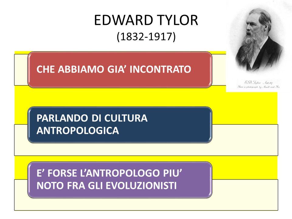 EDWARD TYLOR (1832-1917)