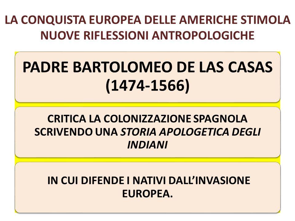 La conquista europea delle Americhe stimola nuove riflessioni antropologiche