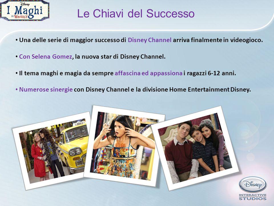 Le Chiavi del Successo Una delle serie di maggior successo di Disney Channel arriva finalmente in videogioco. Con Selena Gomez, la nuova star di Disne