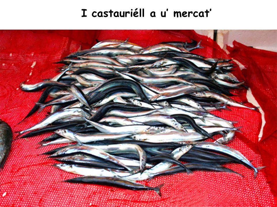 I castauriéll a u mercat