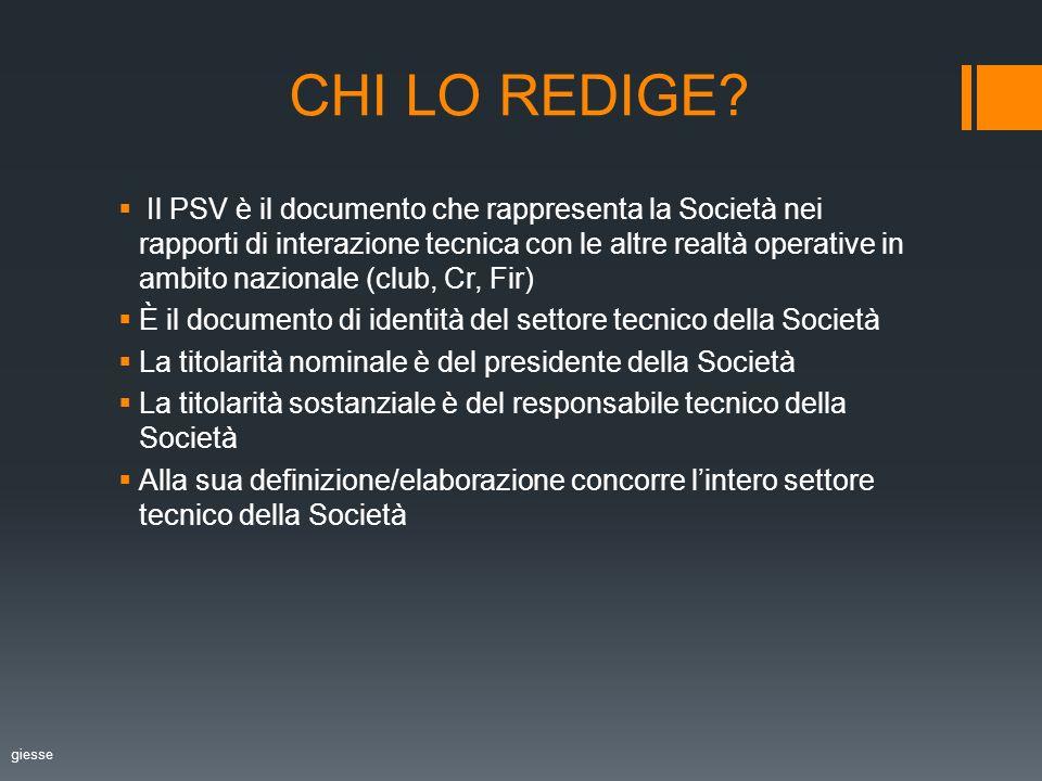 CHI LO REDIGE.