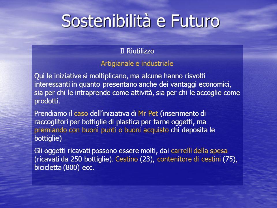 Sostenibilità e Futuro Il Riutilizzo Artigianale e industriale Mr Pet