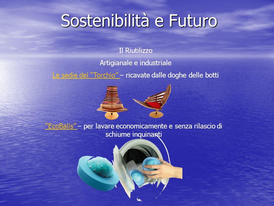 Sostenibilità e Futuro Il Riutilizzo Artigianale e industriale