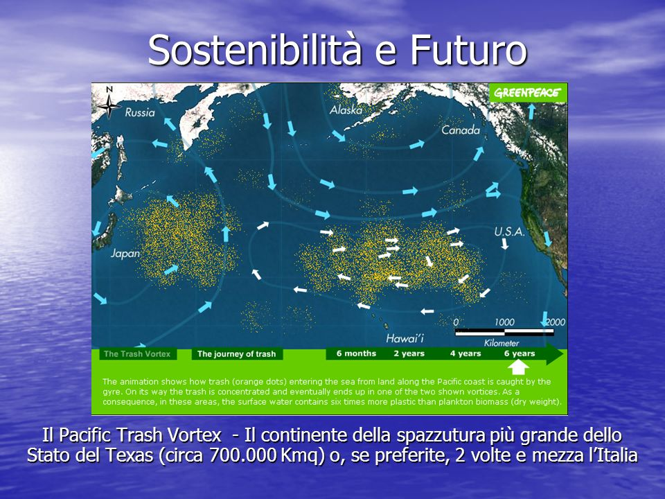 Questo continente è composto soprattutto di plastica, più specificatamente di sacchetti di plastica.