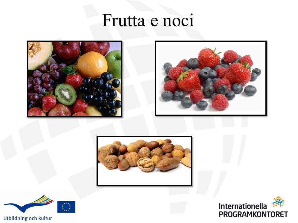 Frutta e noci