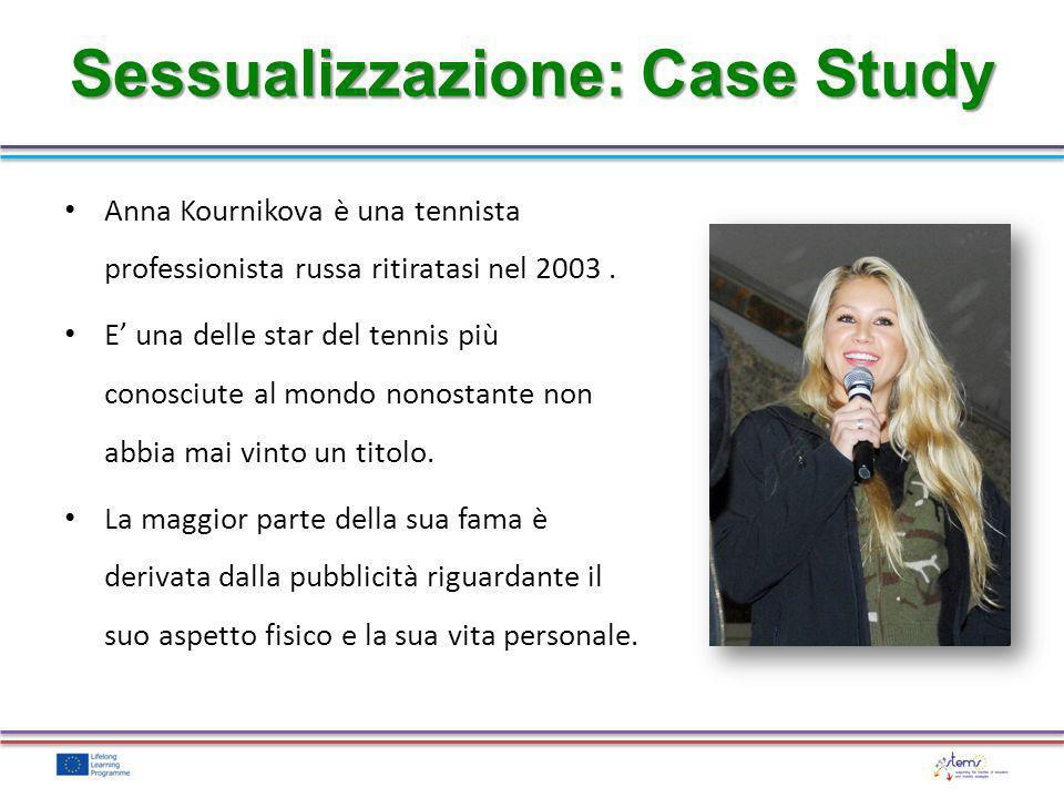 Anna Kournikova è una tennista professionista russa ritiratasi nel 2003. E una delle star del tennis più conosciute al mondo nonostante non abbia mai
