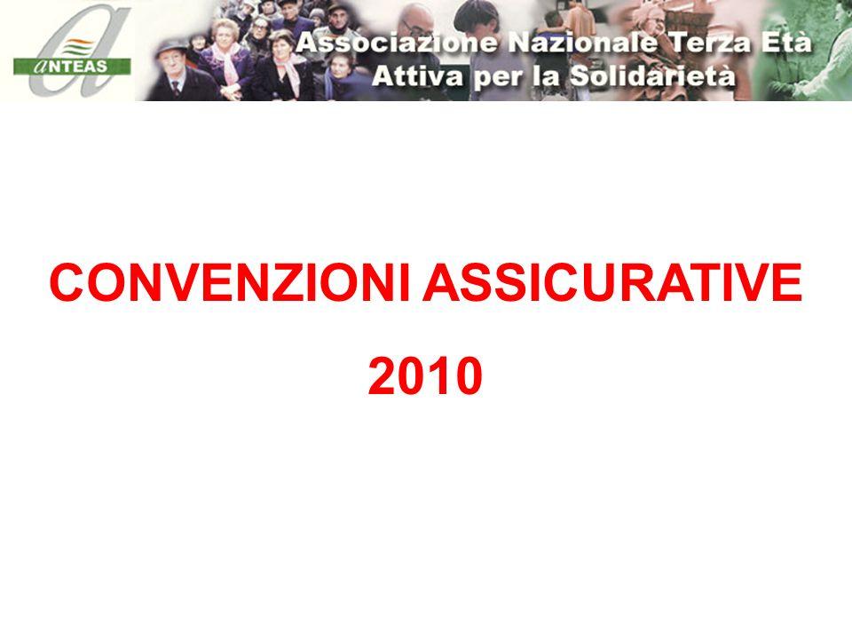 CONVENZIONI ASSICURATIVE 2010