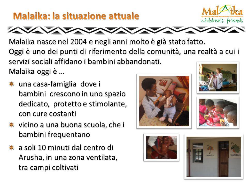 Malaika nasce nel 2004 e negli anni molto è già stato fatto. Oggi è uno dei punti di riferimento della comunità, una realtà a cui i servizi sociali af