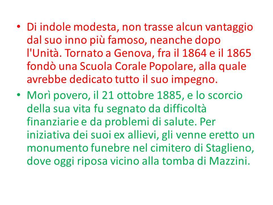 FRATELLI DITALIA STROFA: Fratelli dItalia, lItalia sè desta, dellelmo di Scipio sè cinta la testa.