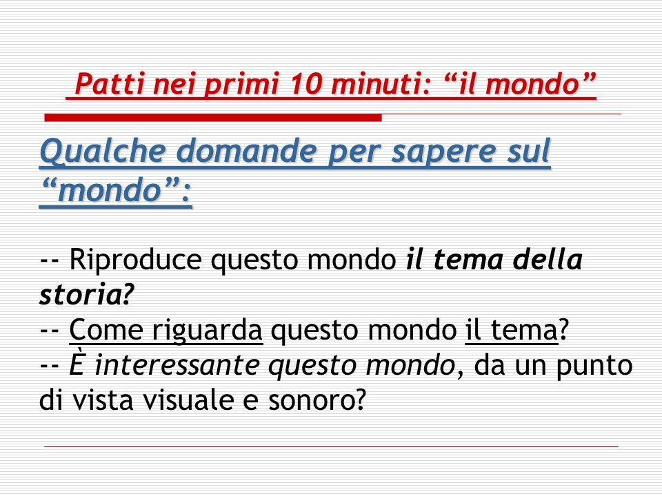 Patti nei primi 10-15 minuti: conflict = power -- Conflict may have moral overtones, such as self-sacrifice vs.