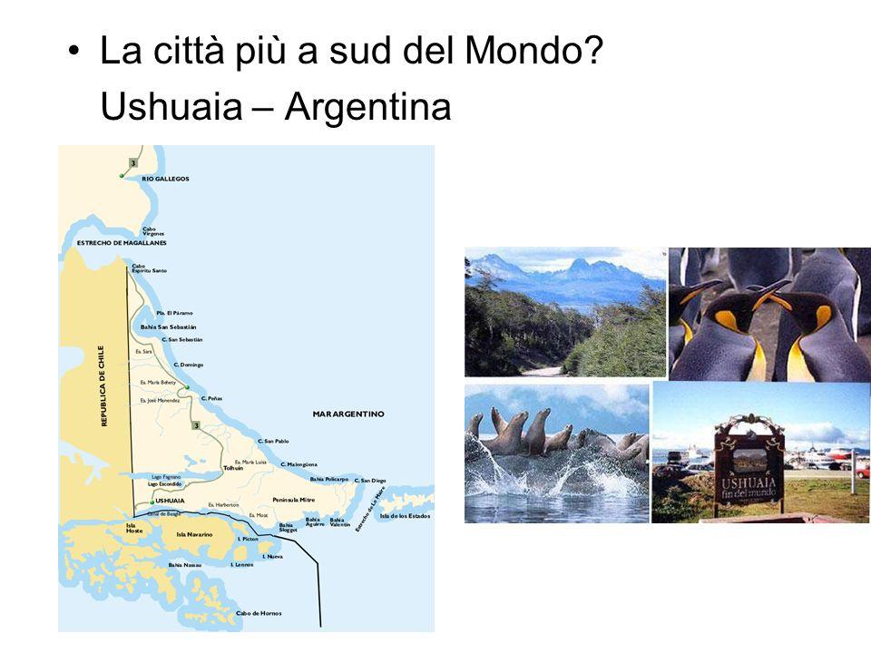La città più a sud del Mondo? Ushuaia – Argentina