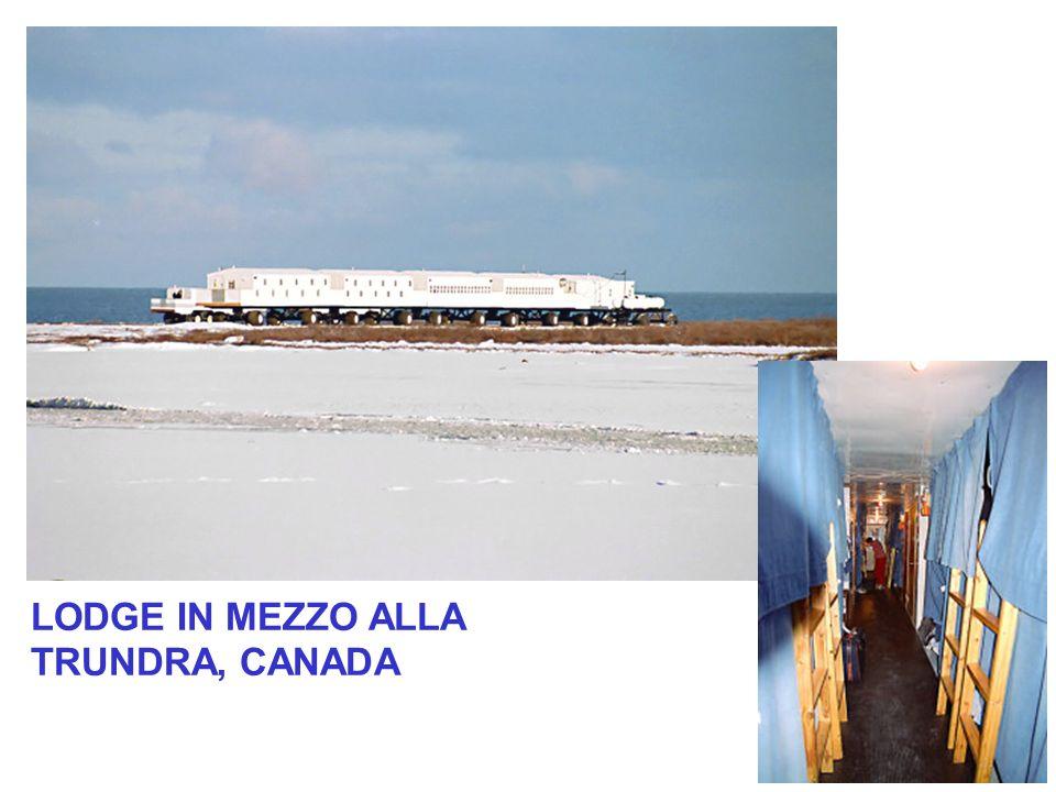 LODGE IN MEZZO ALLA TRUNDRA, CANADA