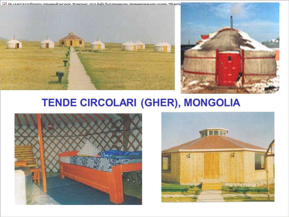 TENDE CIRCOLARI (GHER), MONGOLIA