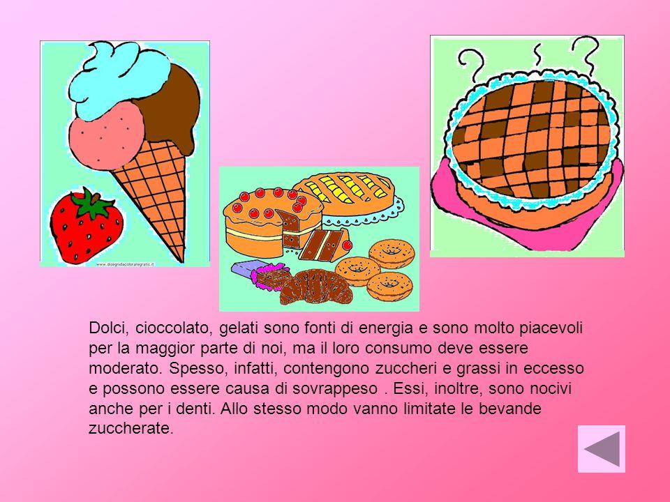 È da limitare luso di condimenti, in cui i grassi si aggiungono a quelli già naturalmente presenti in alcuni cibi. I grassi in eccesso rispetto alle e