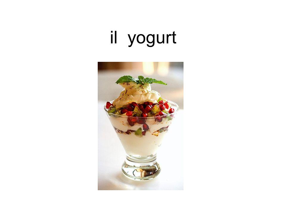 il yogurt