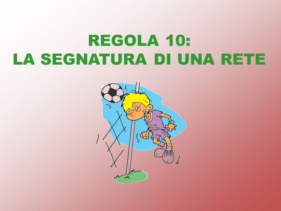 REGOLA 10: LA SEGNATURA DI UNA RETE