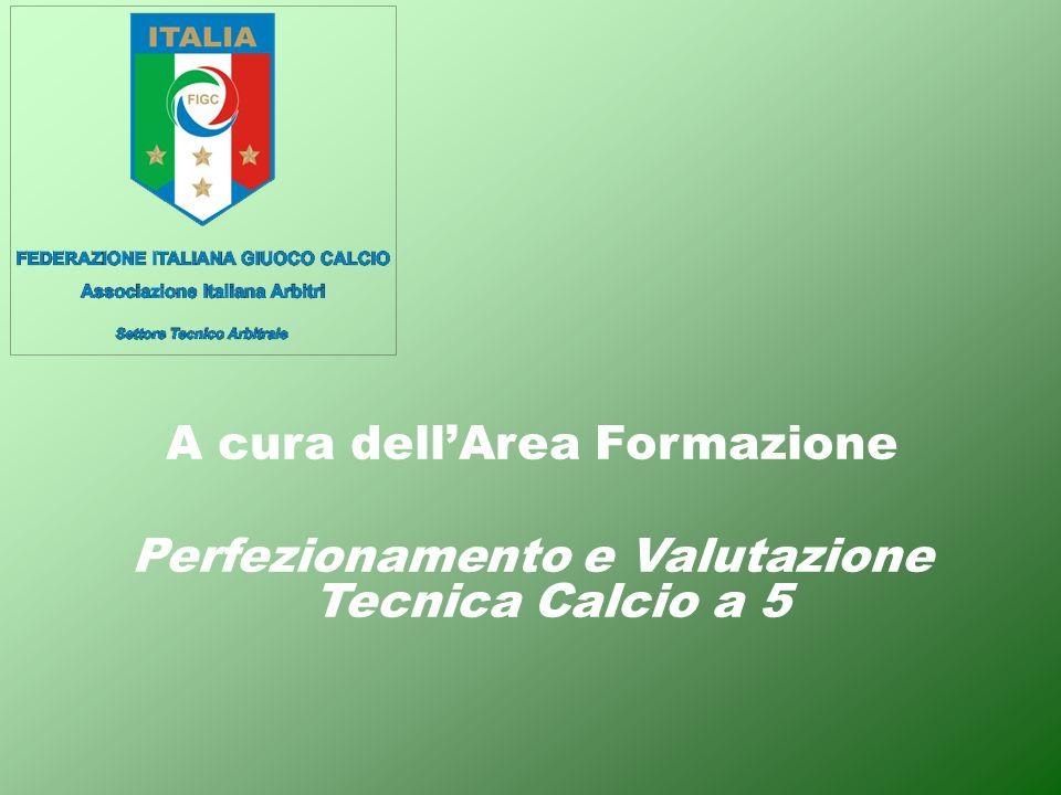 A cura dellArea Formazione Perfezionamento e Valutazione Tecnica Calcio a 5