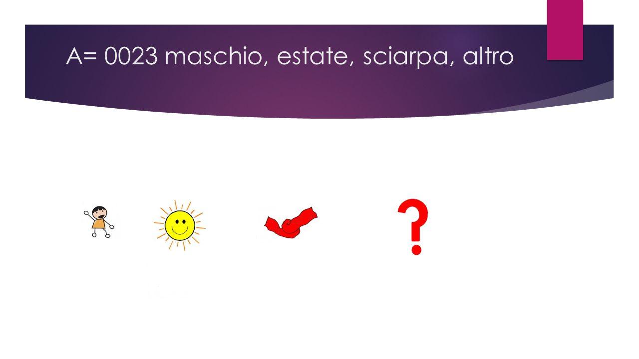 A= 0023 maschio, estate, sciarpa, altro