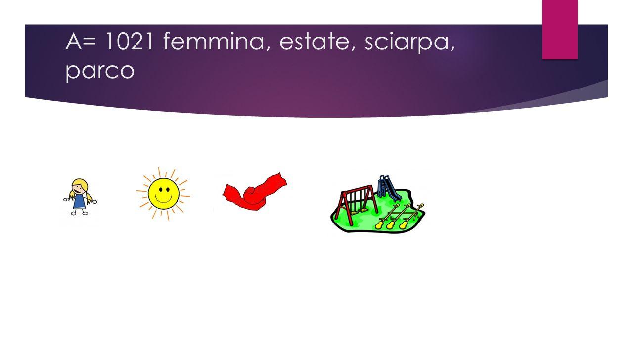 A= 1021 femmina, estate, sciarpa, parco