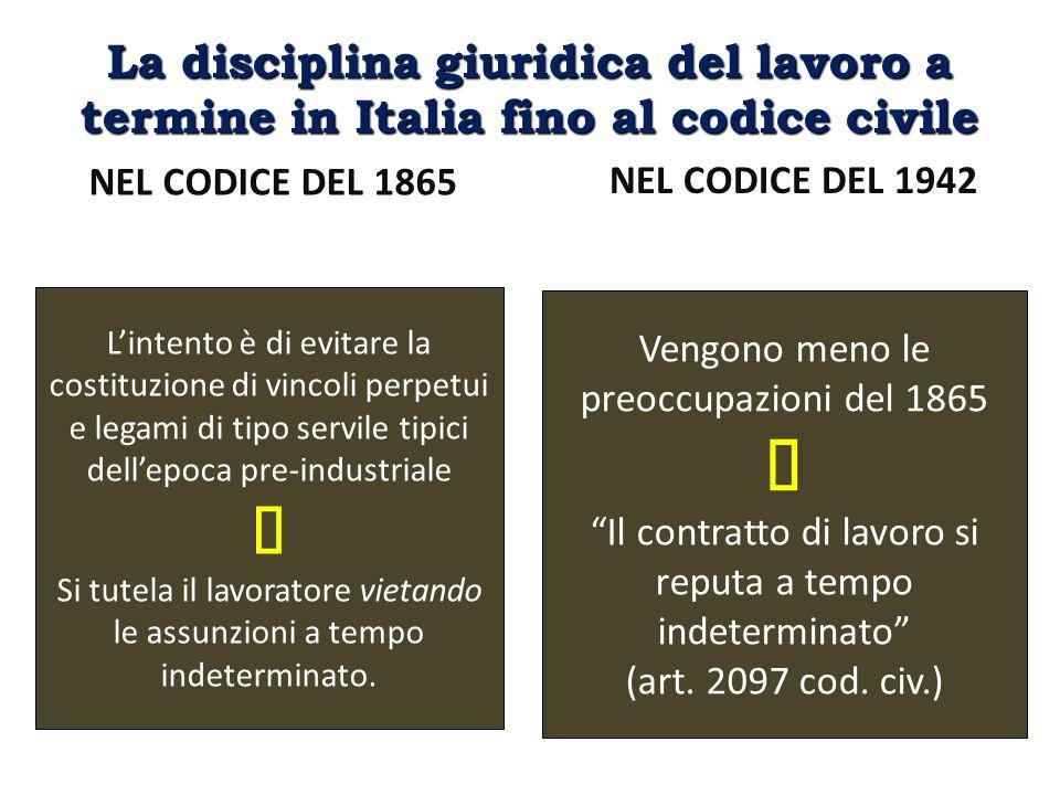 La Direttiva 1999/70/CE (i Considerando) […] 6.