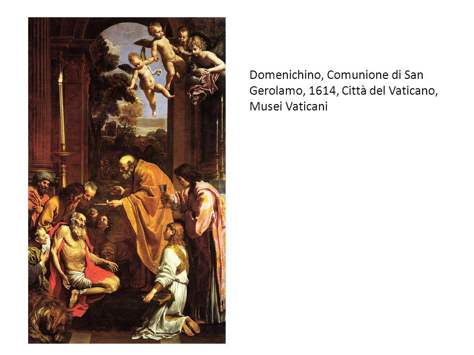 Domenichino, Comunione di San Gerolamo, 1614, Città del Vaticano, Musei Vaticani