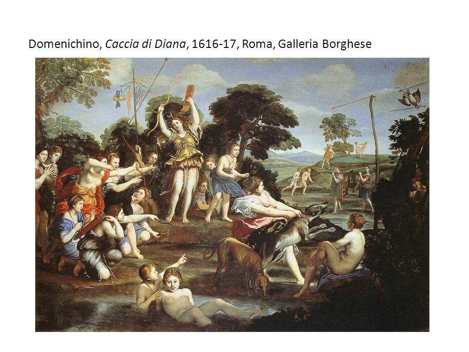 Domenichino, Caccia di Diana, 1616-17, Roma, Galleria Borghese