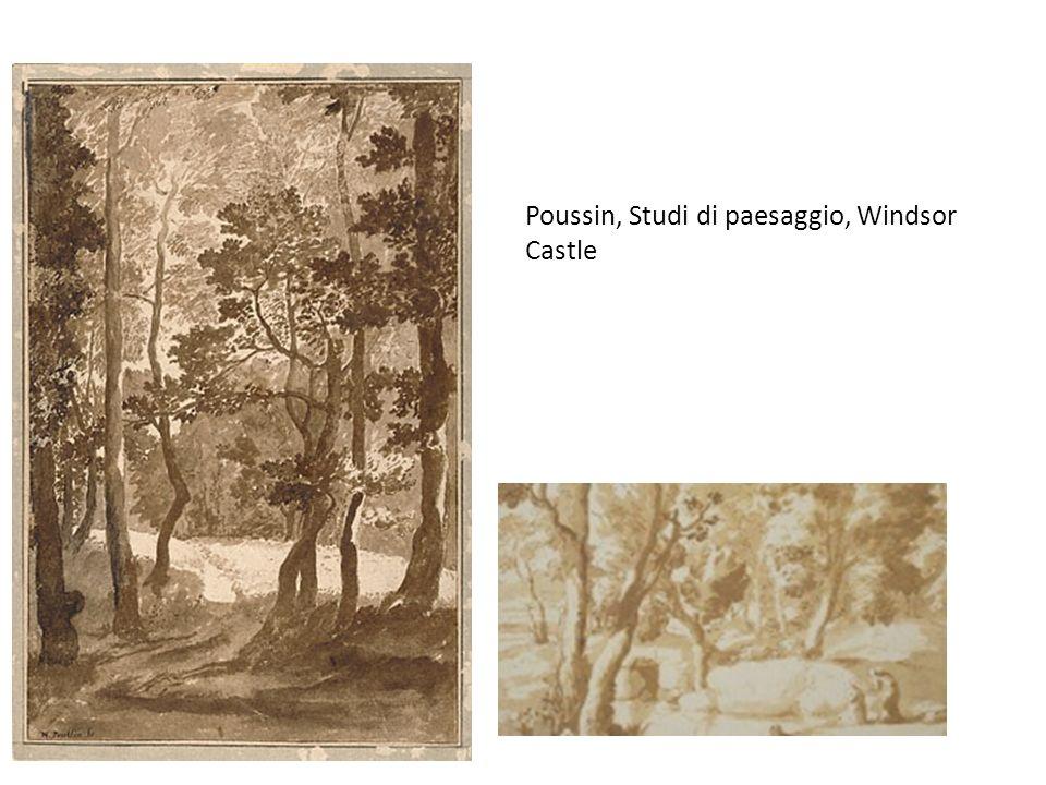 Poussin, Studi di paesaggio, Windsor Castle