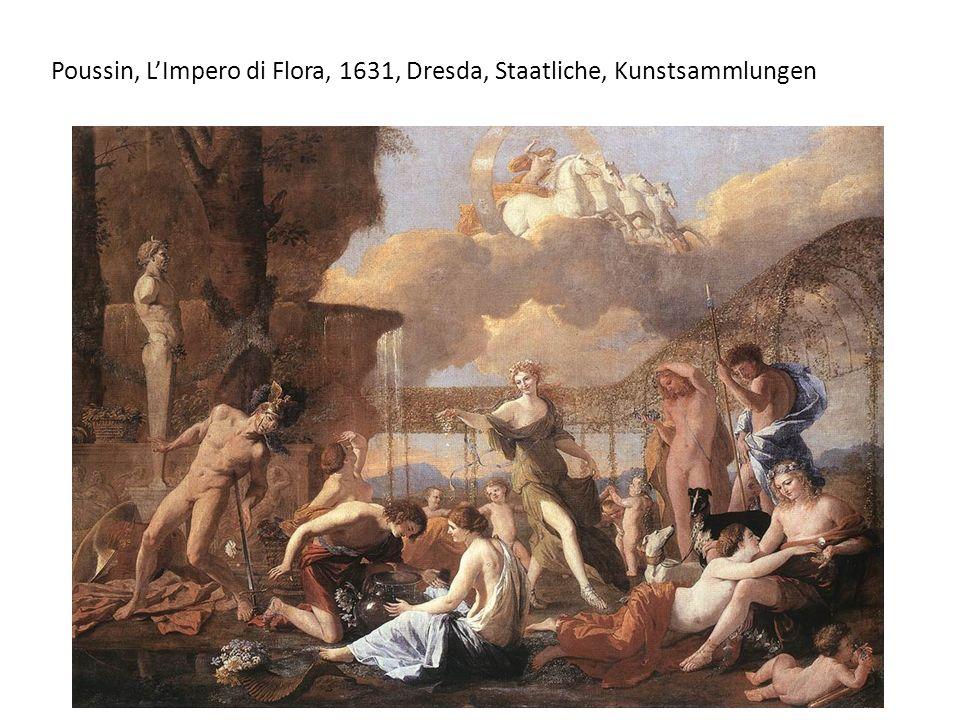 Poussin, LImpero di Flora, 1631, Dresda, Staatliche, Kunstsammlungen