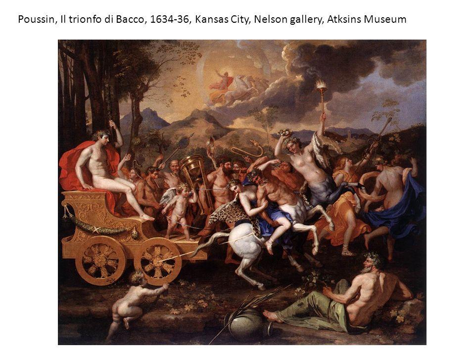 Poussin, Il trionfo di Bacco, 1634-36, Kansas City, Nelson gallery, Atksins Museum