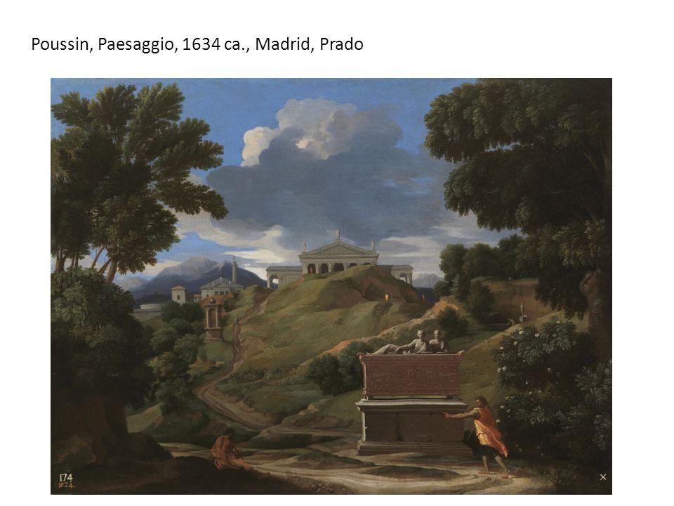 Poussin, Paesaggio, 1634 ca., Madrid, Prado