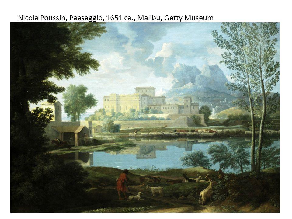 Nicola Poussin, Paesaggio, 1651 ca., Malibù, Getty Museum