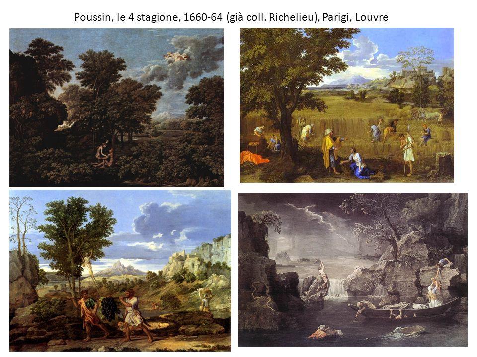 Poussin, le 4 stagione, 1660-64 (già coll. Richelieu), Parigi, Louvre