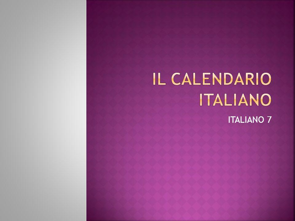 ITALIANO 7