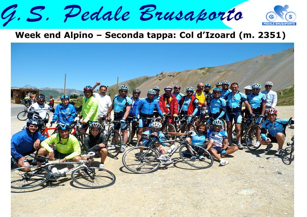 Week end Alpino – Seconda tappa: Col dIzoard (m. 2351)