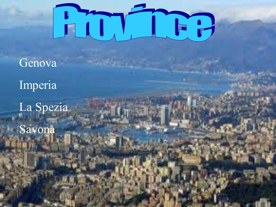 Genova Imperia La Spezia Savona
