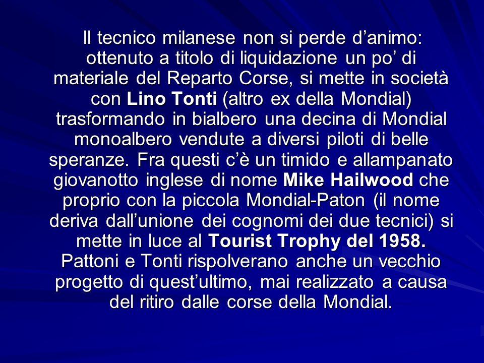 Aprite le orecchie … Tutto inizia a Milano nel 1946 in via San Vittore, quando il giovane Giuseppe Pattoni (classe 1926 e una passione innata per i mo