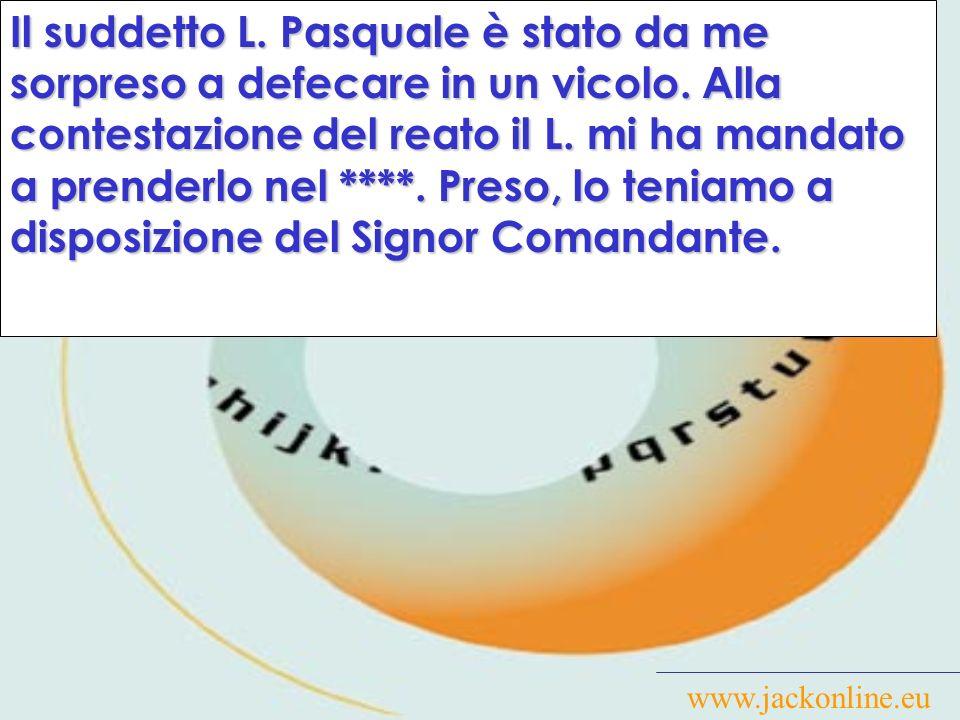 www.jackonline.eu Truffava gli sprovveduti fingendosi esperto di astrologia e segni zoodiacali.