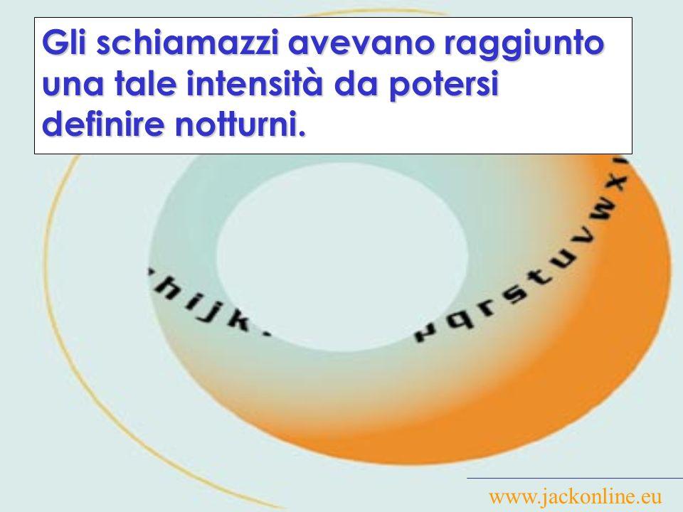 www.jackonline.eu Il suddetto L.Pasquale è stato da me sorpreso a defecare in un vicolo.