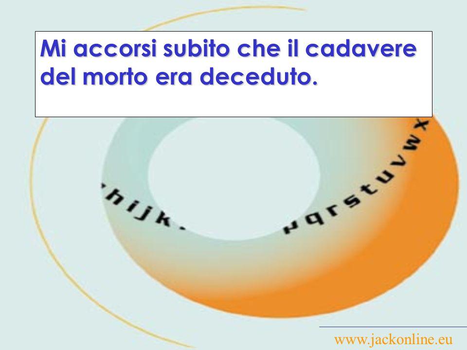 www.jackonline.eu Al bar, dichiara il pregiudicato, aveva consumato solo alcuni salatini e un Wiskey di marca Black and Decker.