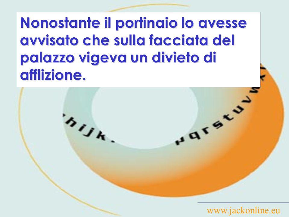www.jackonline.eu Durante l identificazione, il Fornasari assumeva una sudorazione sul corpo non consona al momento (stante che erano le due di notte) e alla stagione (inverno).