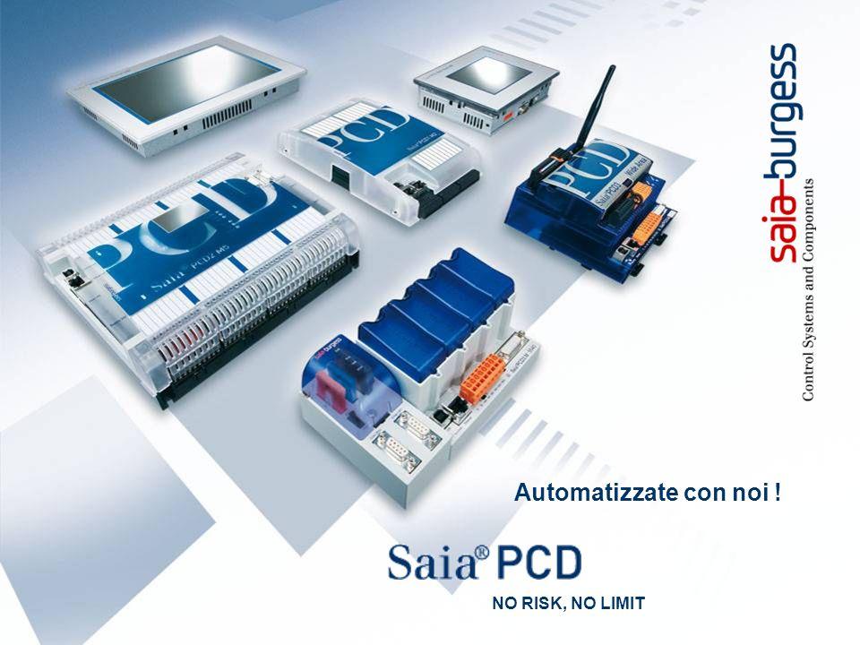 4 System Integrator - Project References Saia-Burgess Controls www.saia-pcd.com Automatizzate con noi .