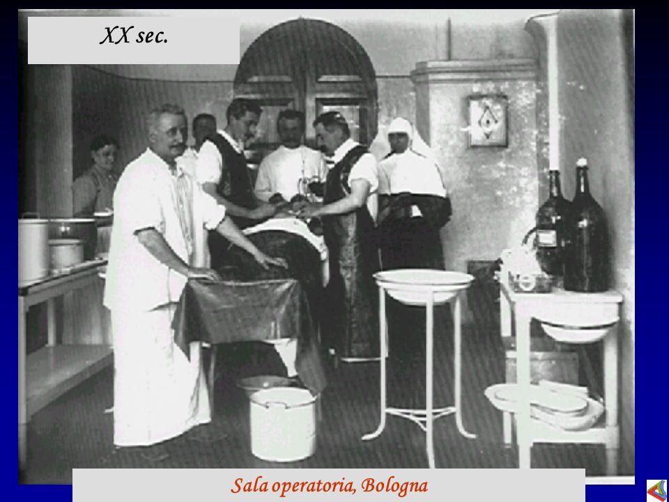 XX sec. Sala operatoria, Bologna