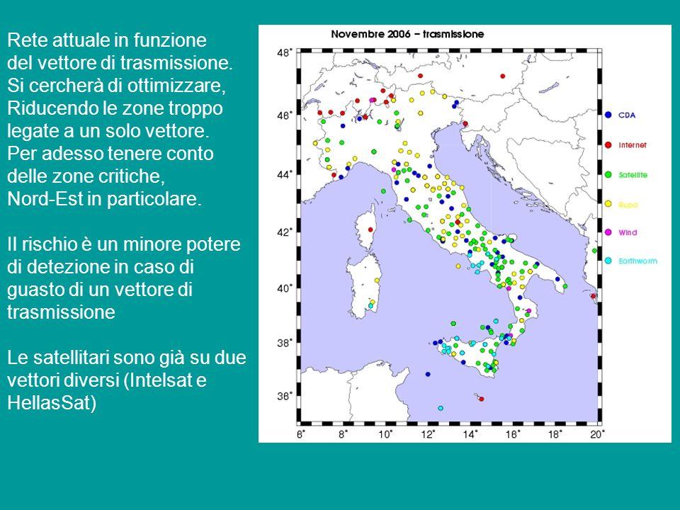 Reti dellINGV-OV A parte una rete regionale, in parte già integrata e in via di integrazione con la rete naz., OV gestisce reti su Vesuvio, Campi Flegrei e Ischia.