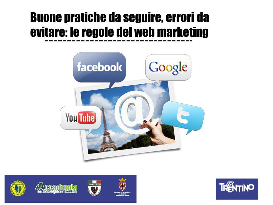 Buone pratiche da seguire, errori da evitare: le regole del web marketing
