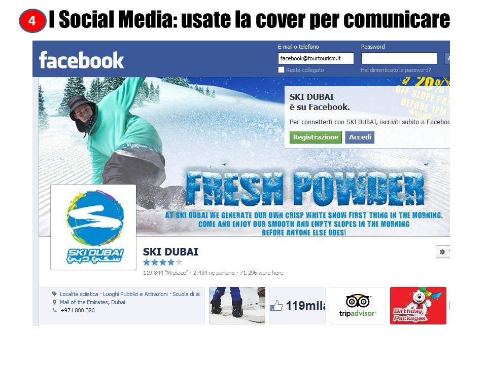 4 I Social Media: usate la cover per comunicare