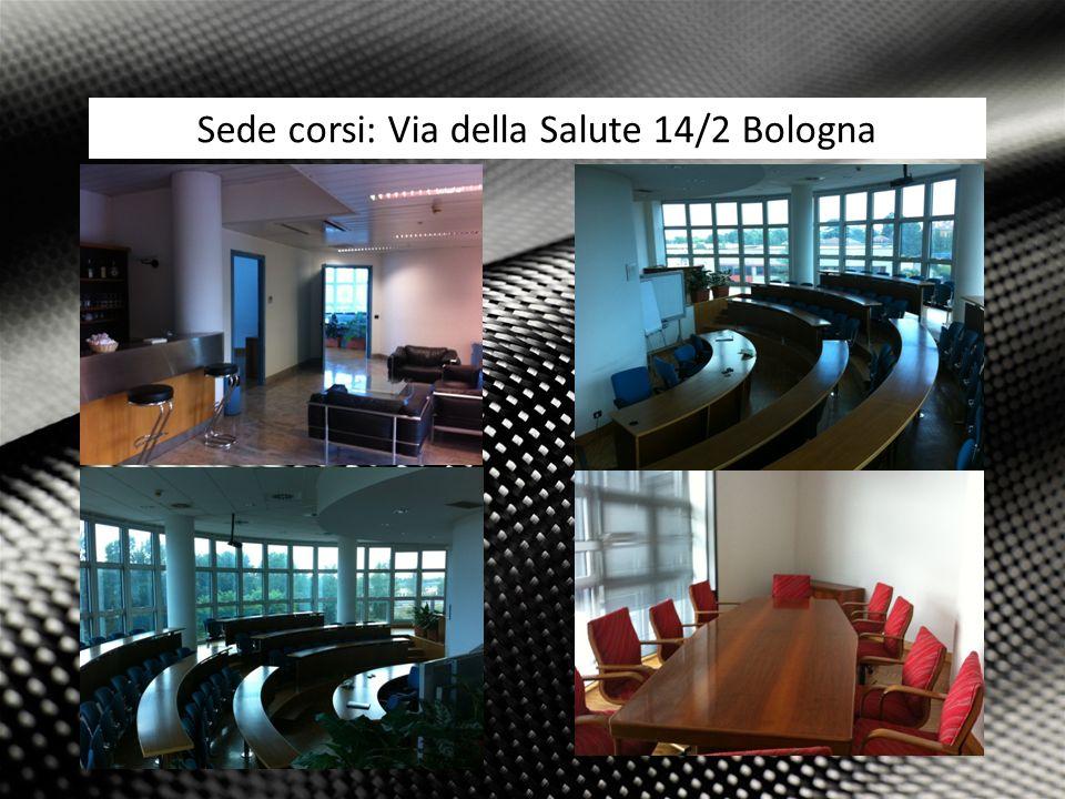 5 Attività: Sede corsi: Via della Salute 14/2 Bologna