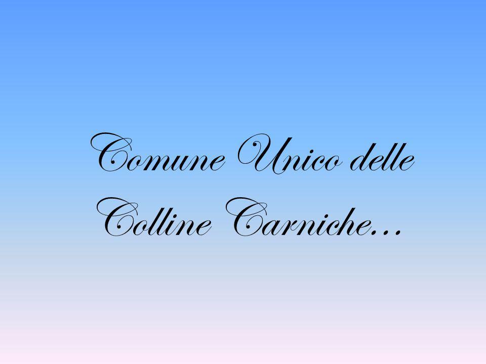 Comune Unico delle Colline Carniche...